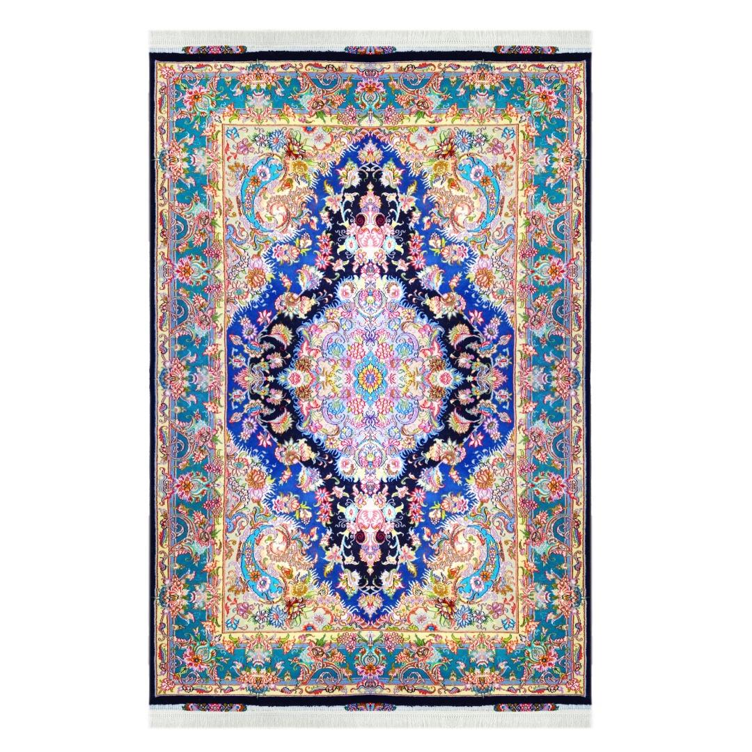 فرش دستبافت شش متری  کد 991014 یک جفت