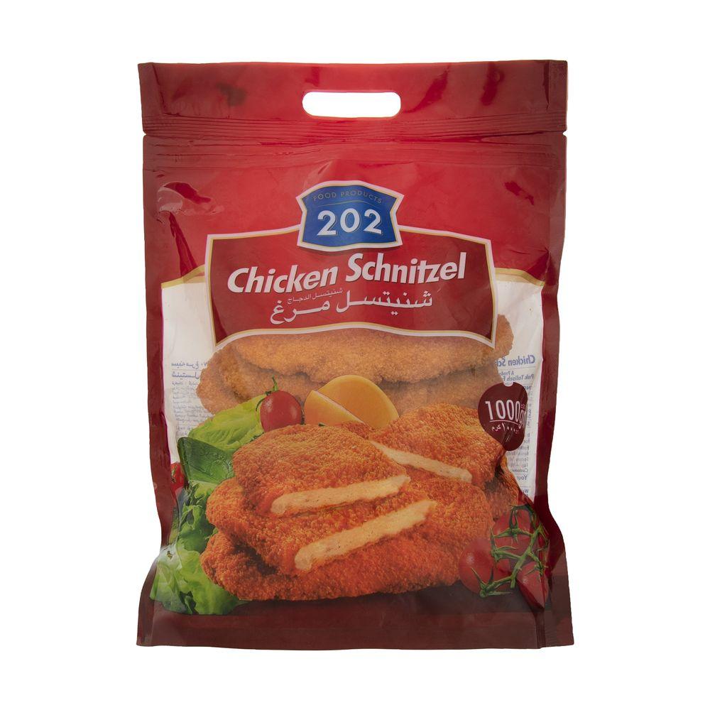 شنیتسل مرغ 202 وزن 1 کیلوگرم