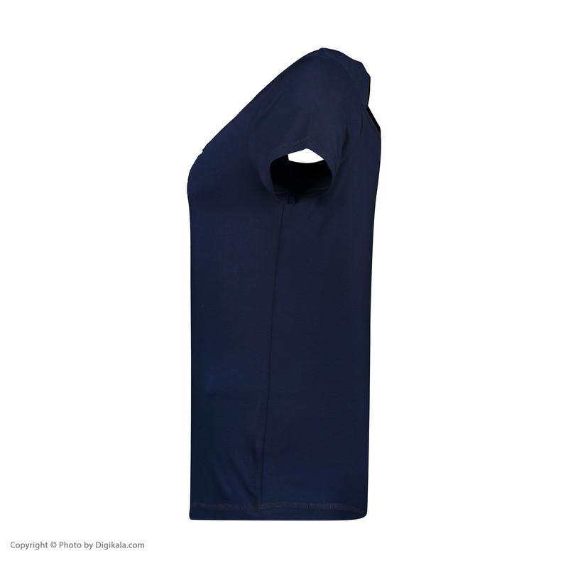 تی شرت ورزشی زنانه هالیدی مدل 801404-Navy blue