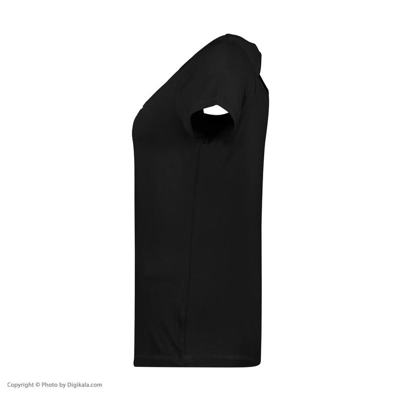 تی شرت ورزشی زنانه هالیدی مدل 801404-black