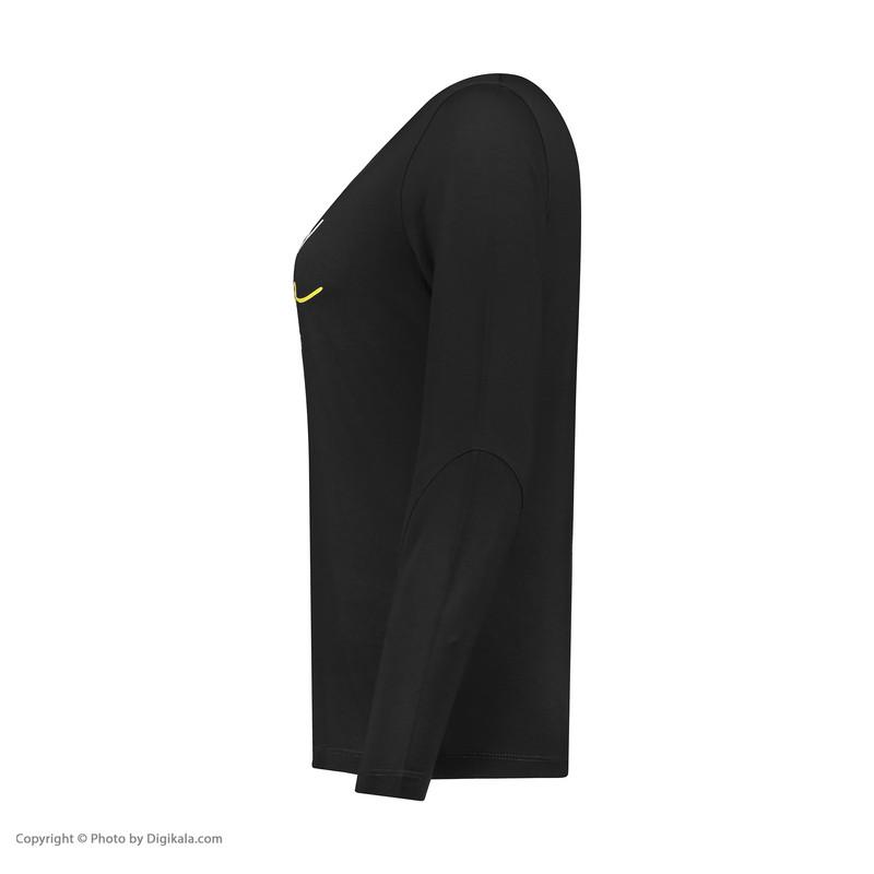 تی شرت ورزشی زنانه هالیدی مدل 804501-black