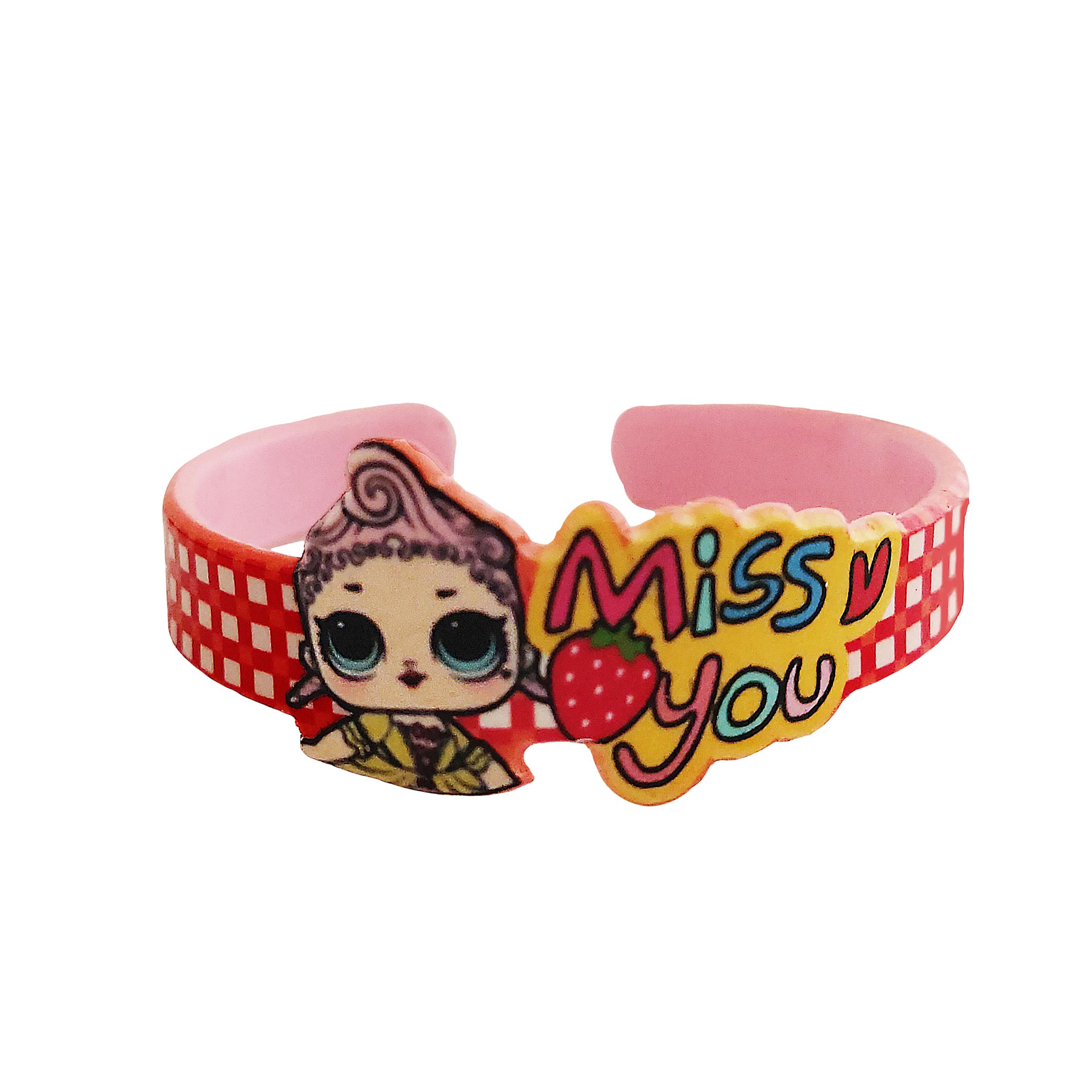 دستبند دخترانه طرح lol کد ۹۹