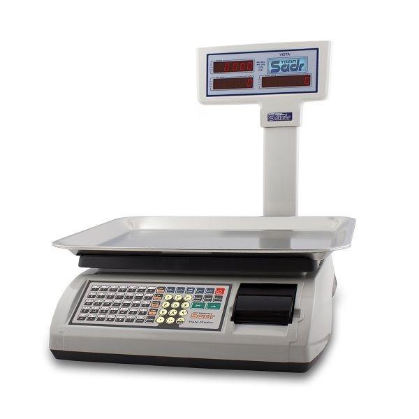 ترازو فروشگاهی توزین صدر مدل Vista Printer