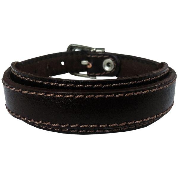 دستبند چرم وارک مدل رهام کد rb176