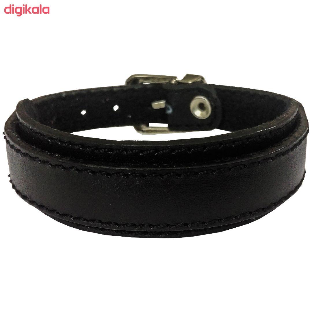 دستبند چرم وارک مدل رهام کد rb176 main 1 5
