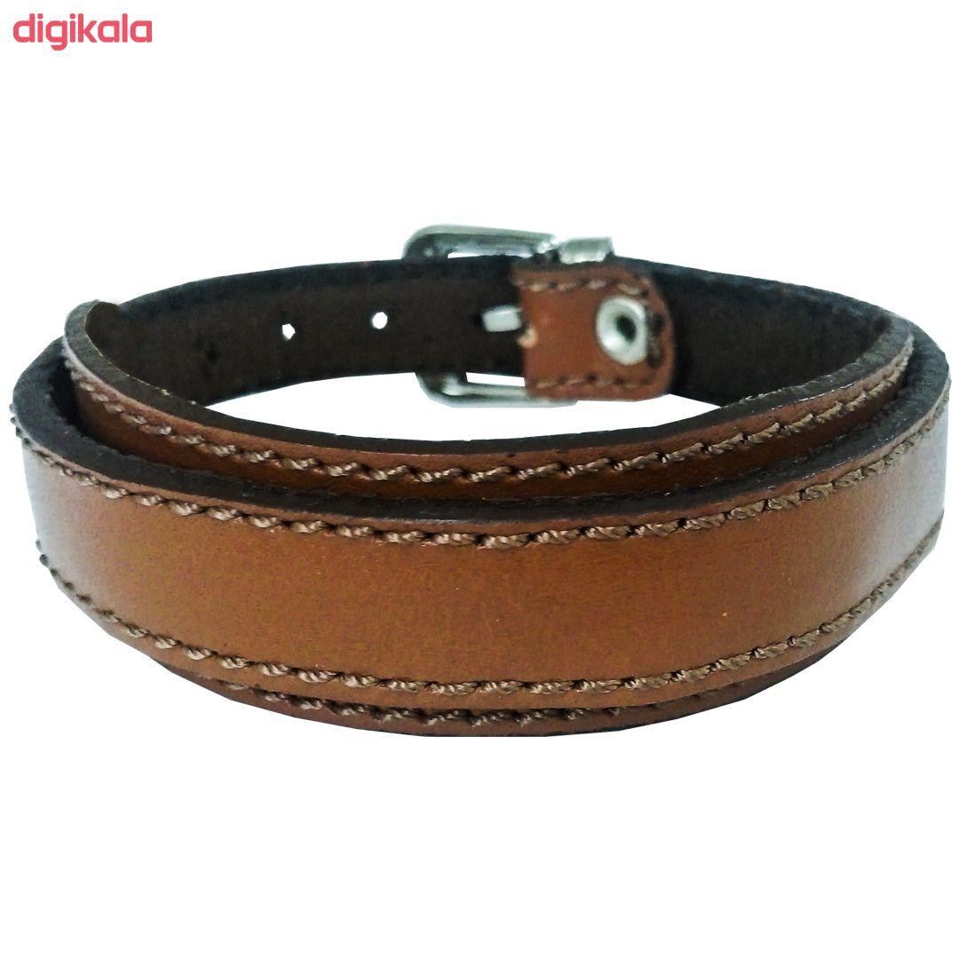 دستبند چرم وارک مدل رهام کد rb176 main 1 6