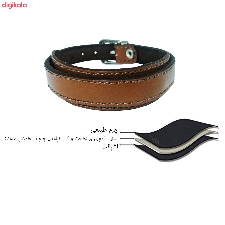 دستبند چرم وارک مدل رهام کد rb176 main 1 13