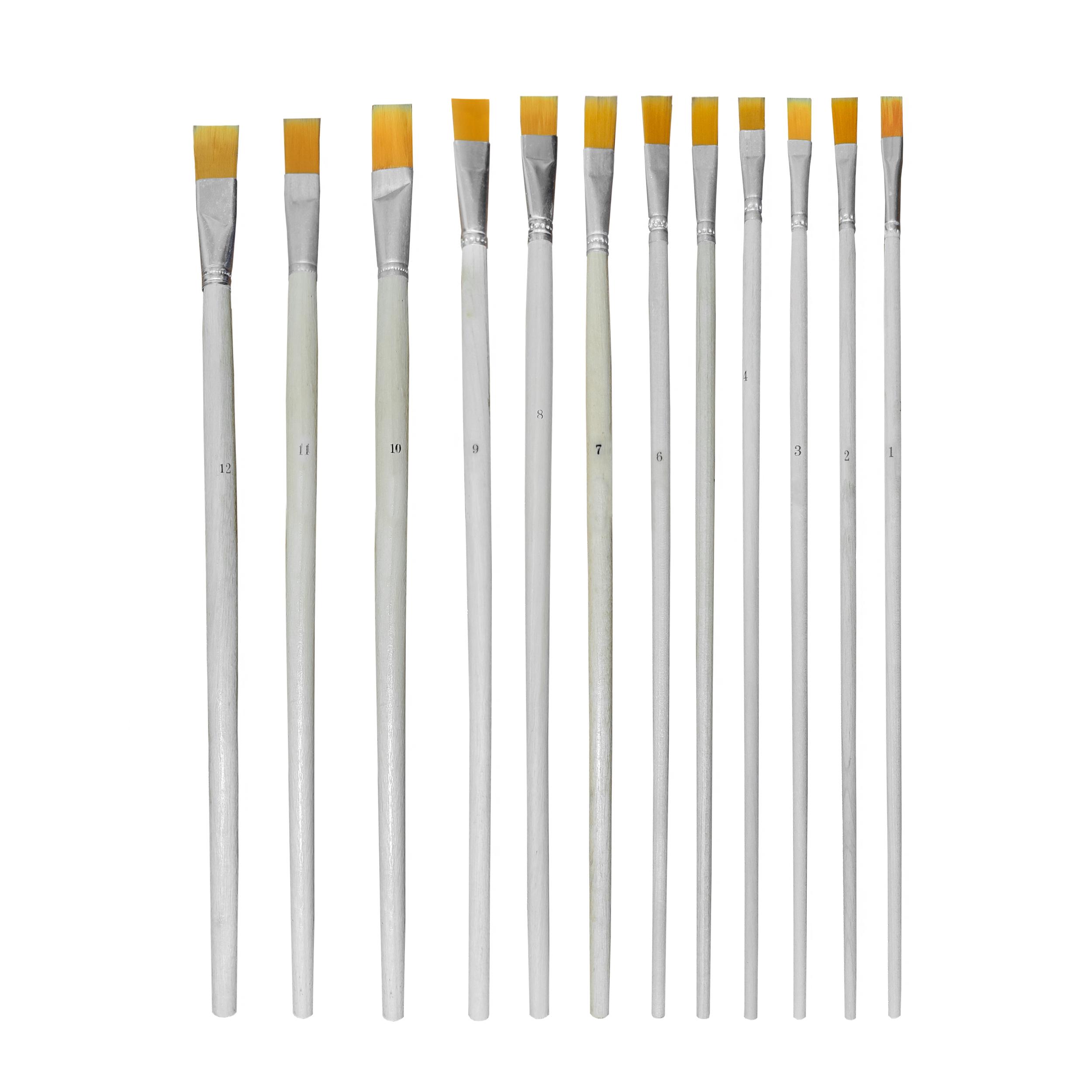 قلم مو تخت کد AR-12 مجموعه 12 عددی