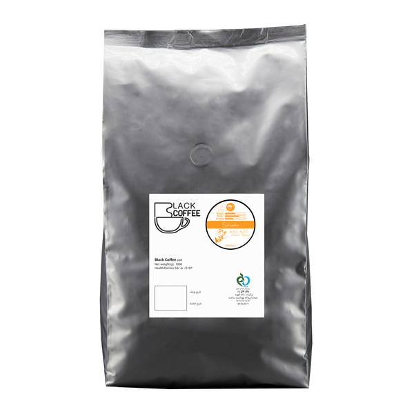 دانه قهوه سالوادور مدیوم بلک کافی 1000 گرم