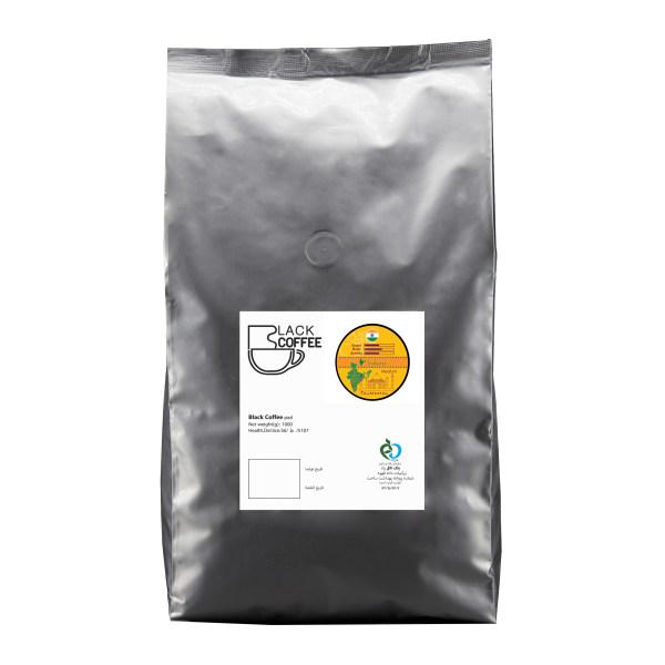 دانه قهوه ایندیانا مدیوم بلک کافی 1000 گرم