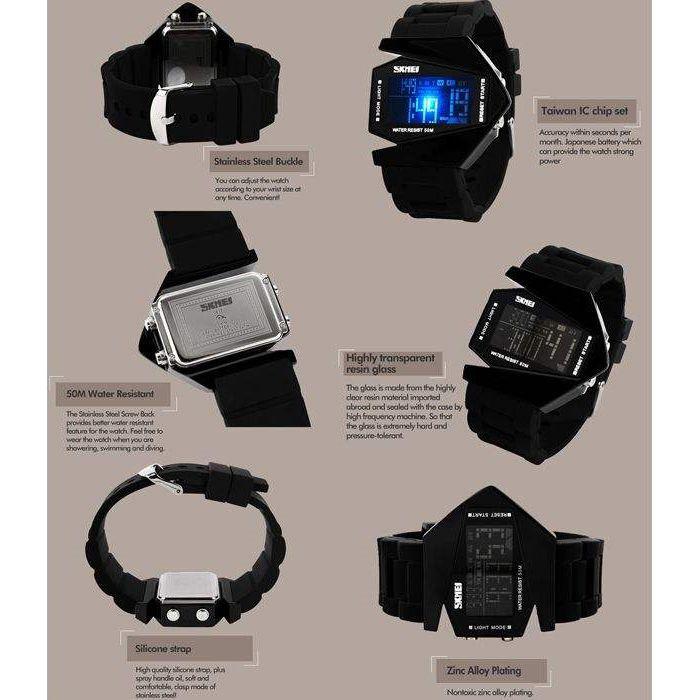 ساعت مچی دیجیتال مردانه اسکمی مدل 0817M کد 03 -  - 5