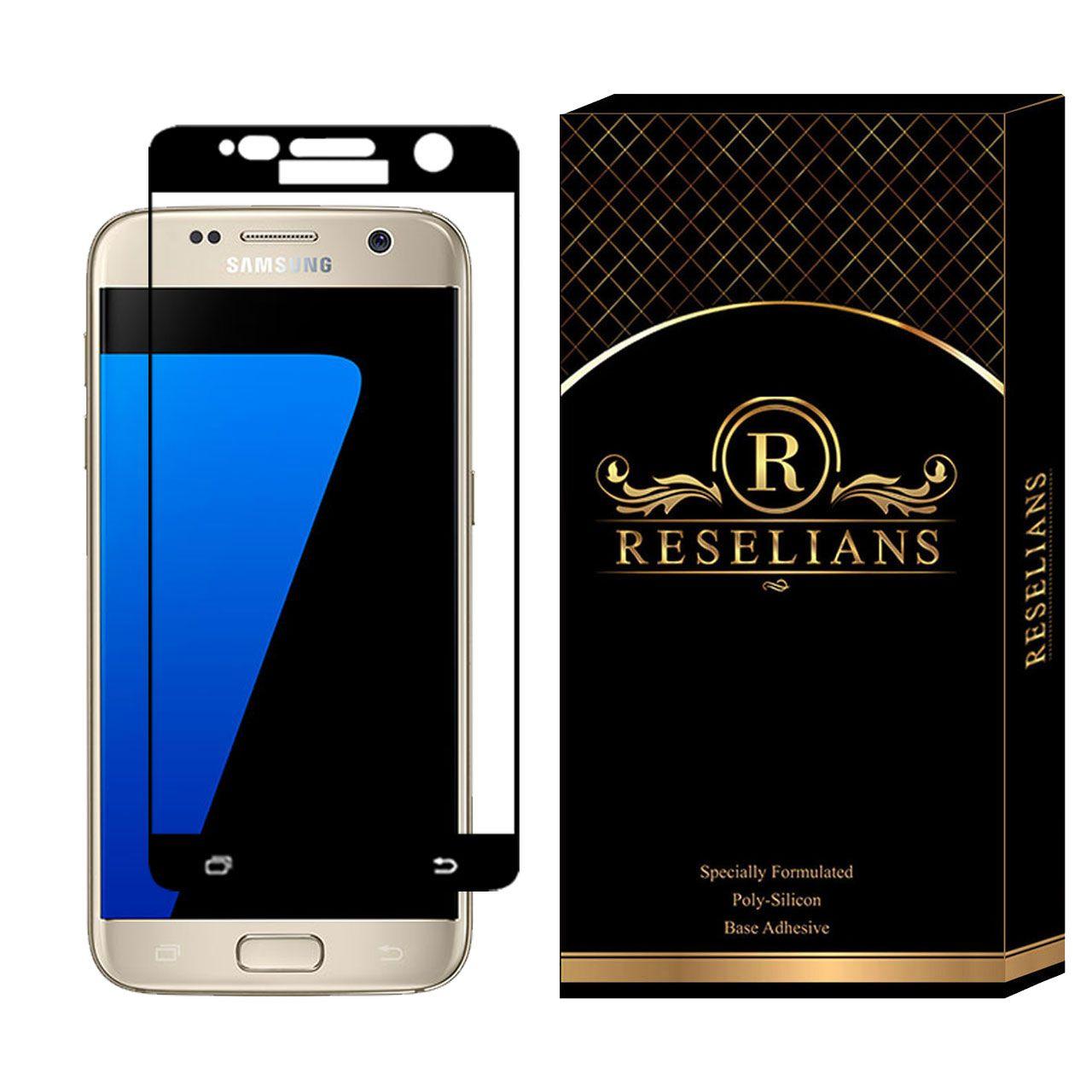 محافظ صفحه نمایش 5D رزلیانس مدل RFG مناسب برای گوشی موبایل سامسونگ Galaxy S7
