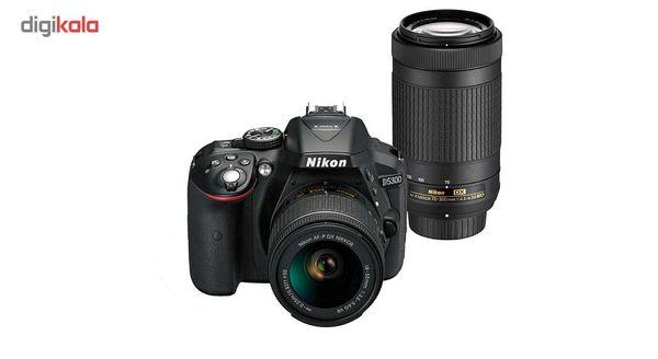 دوربین دیجیتال نیکون مدل D5300 به همراه لنز 18-55 و 70-300 میلی متر