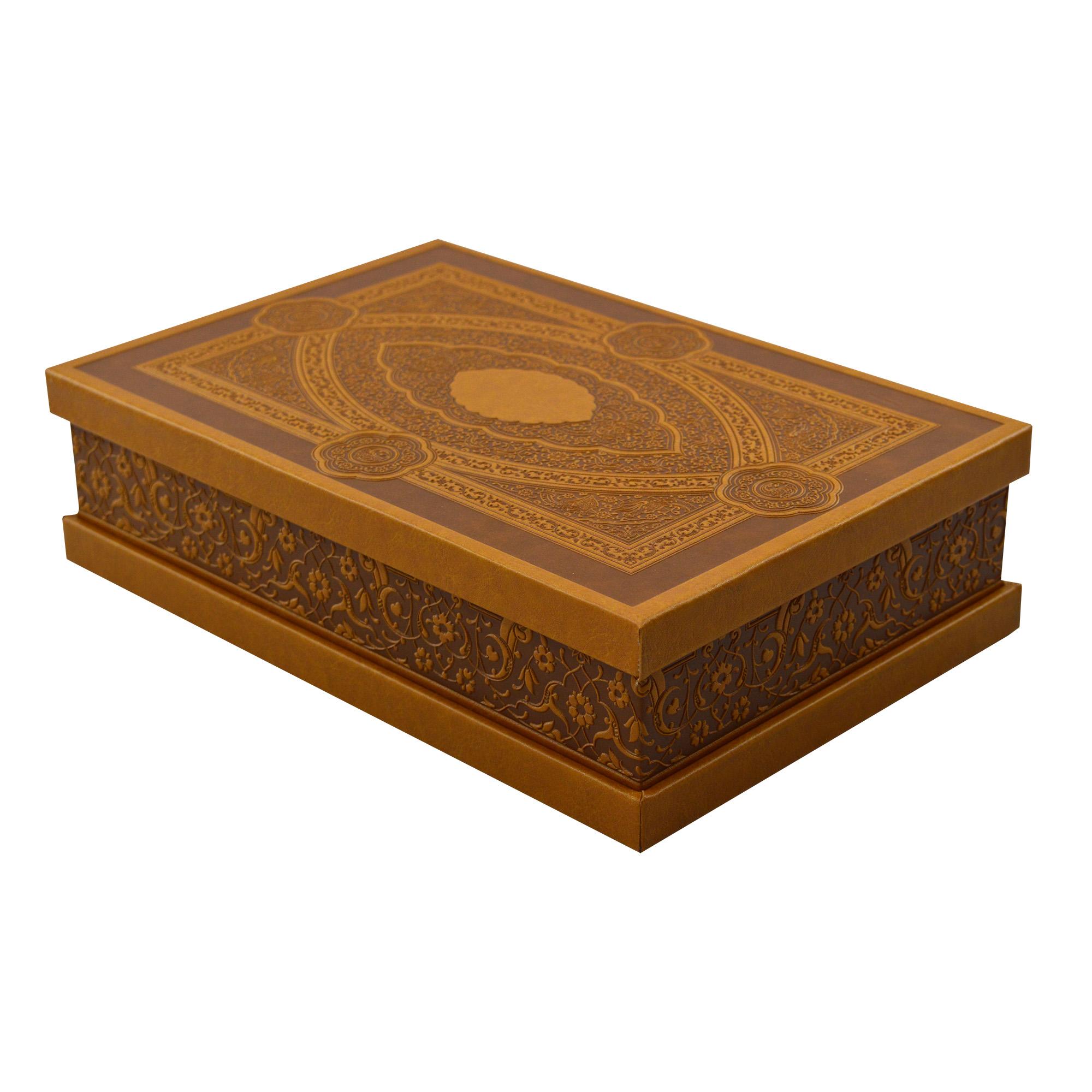 خرید                      جعبه هدیه چرمی مدل مستطیلی کد 101
