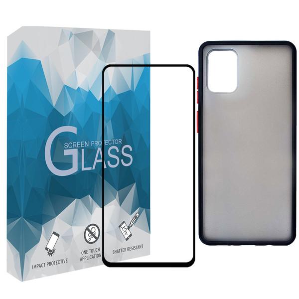 کاور مدل BMR مناسب برای گوشی موبایل سامسونگ Galaxy A51 به همراه محافظ صفحه نمایش