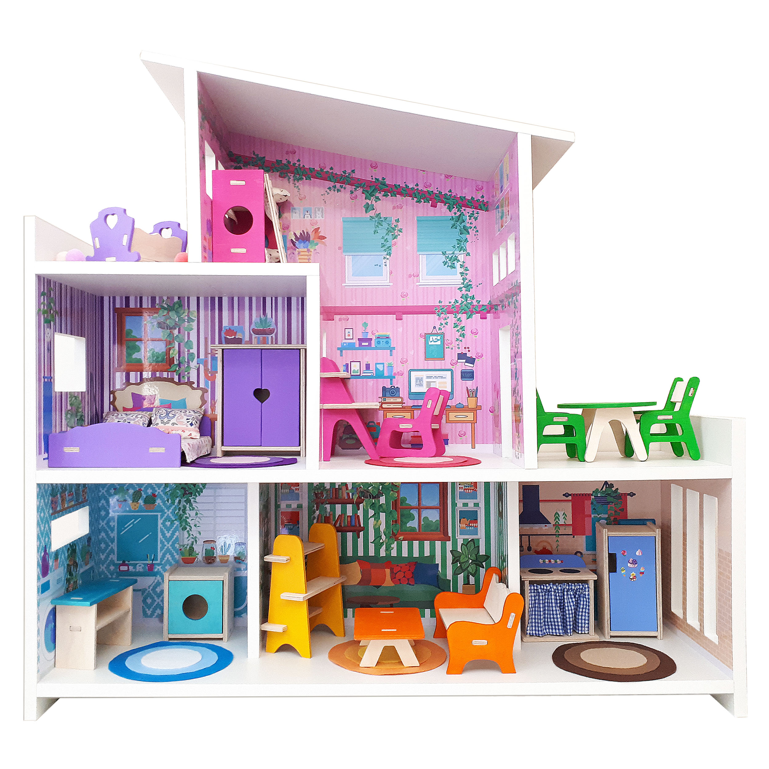 خرید                     اسباب بازی خانه عروسک کد 214