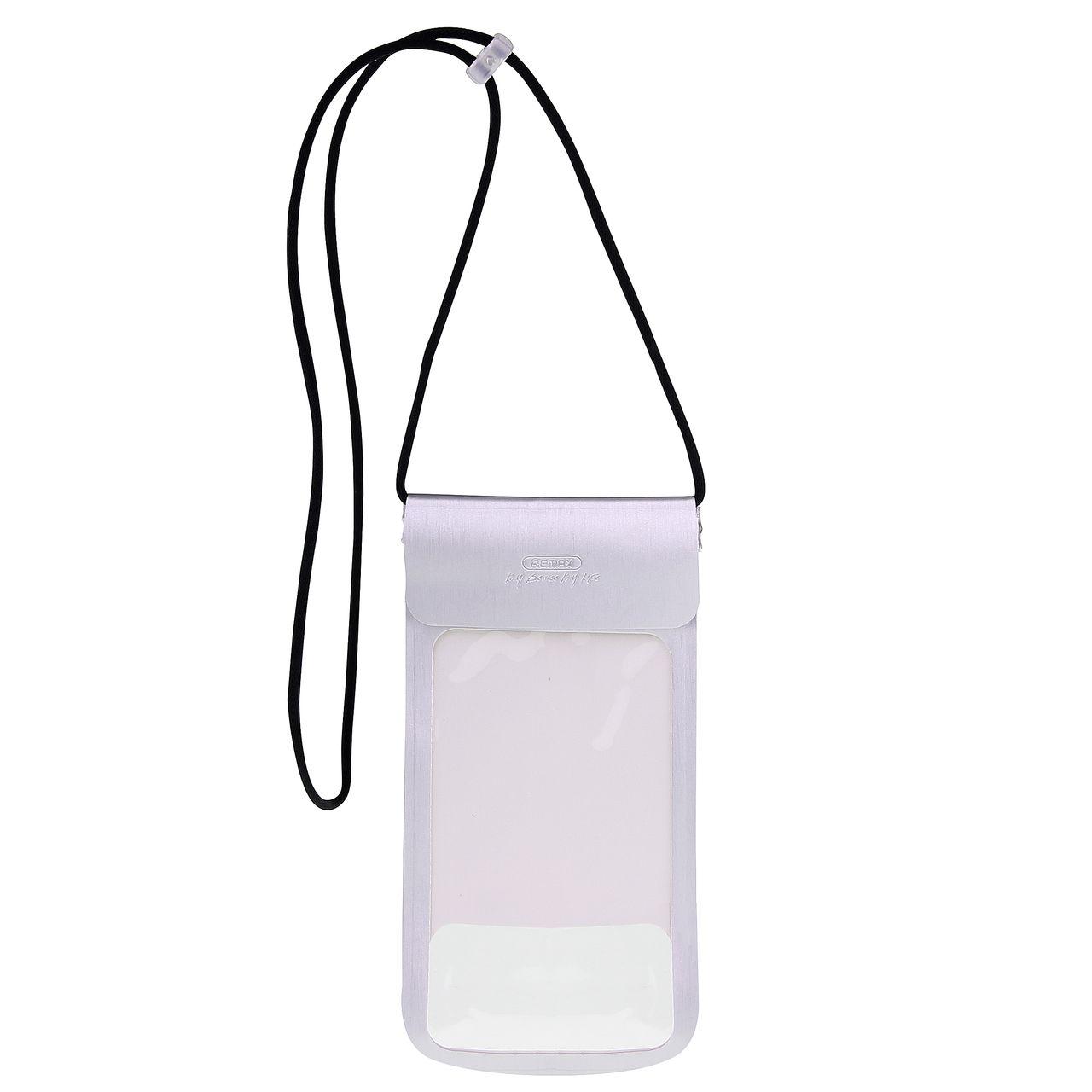 کیف ضد آب ریمکس مدل RT-W3 مناسب برای گوشی موبایل تا سایز ۶ اینچ