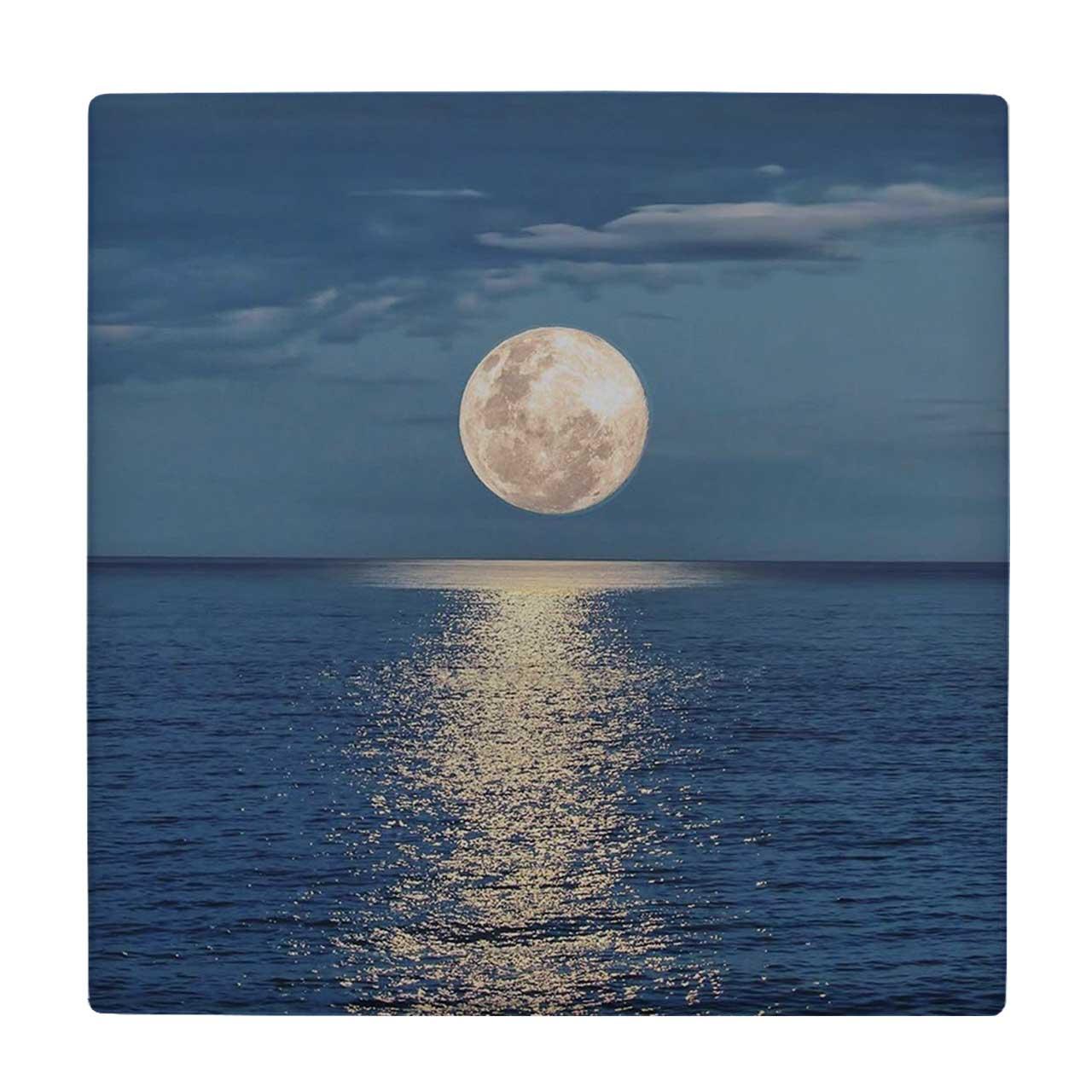 خرید                                         کاشی طرح ماه و دریا کد wk3041