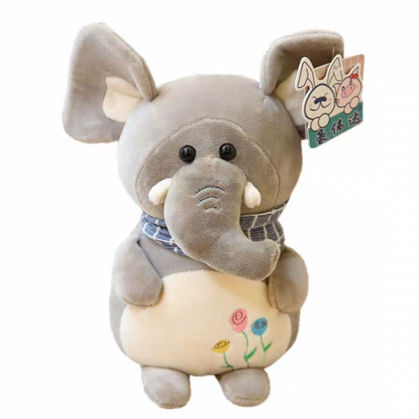 عروسک اچ دبلیو دی طرح فیل ارتفاع ۳۳ سانتی متر
