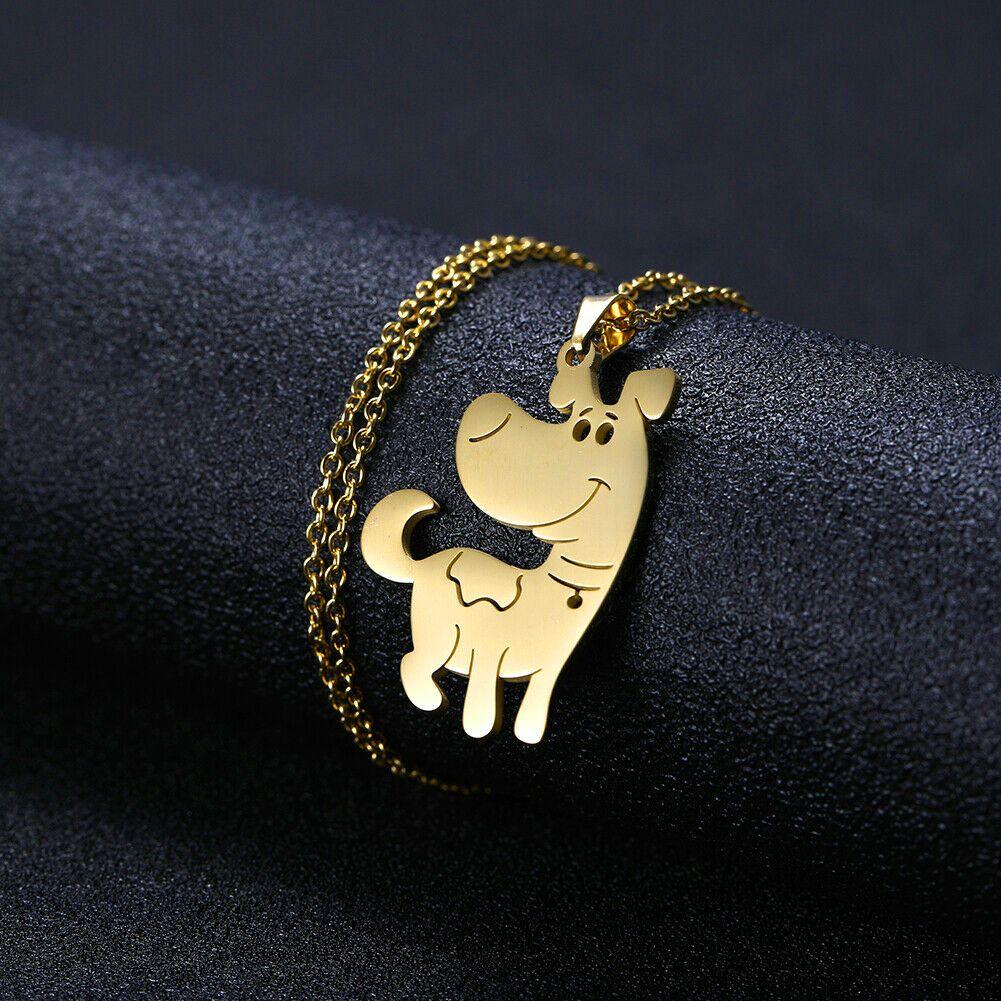 گردنبند نقره زنانه ترمه 1 طرح سگ کد A-620 -  - 7
