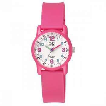 ساعت مچی عقربه ای دخترانه کیو اند کیو مدل vr41j002y