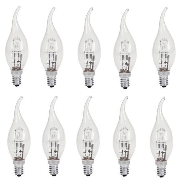 لامپ هالوژن 28 وات پارس شهاب مدل H28 پایه E14 بسته ده عددی