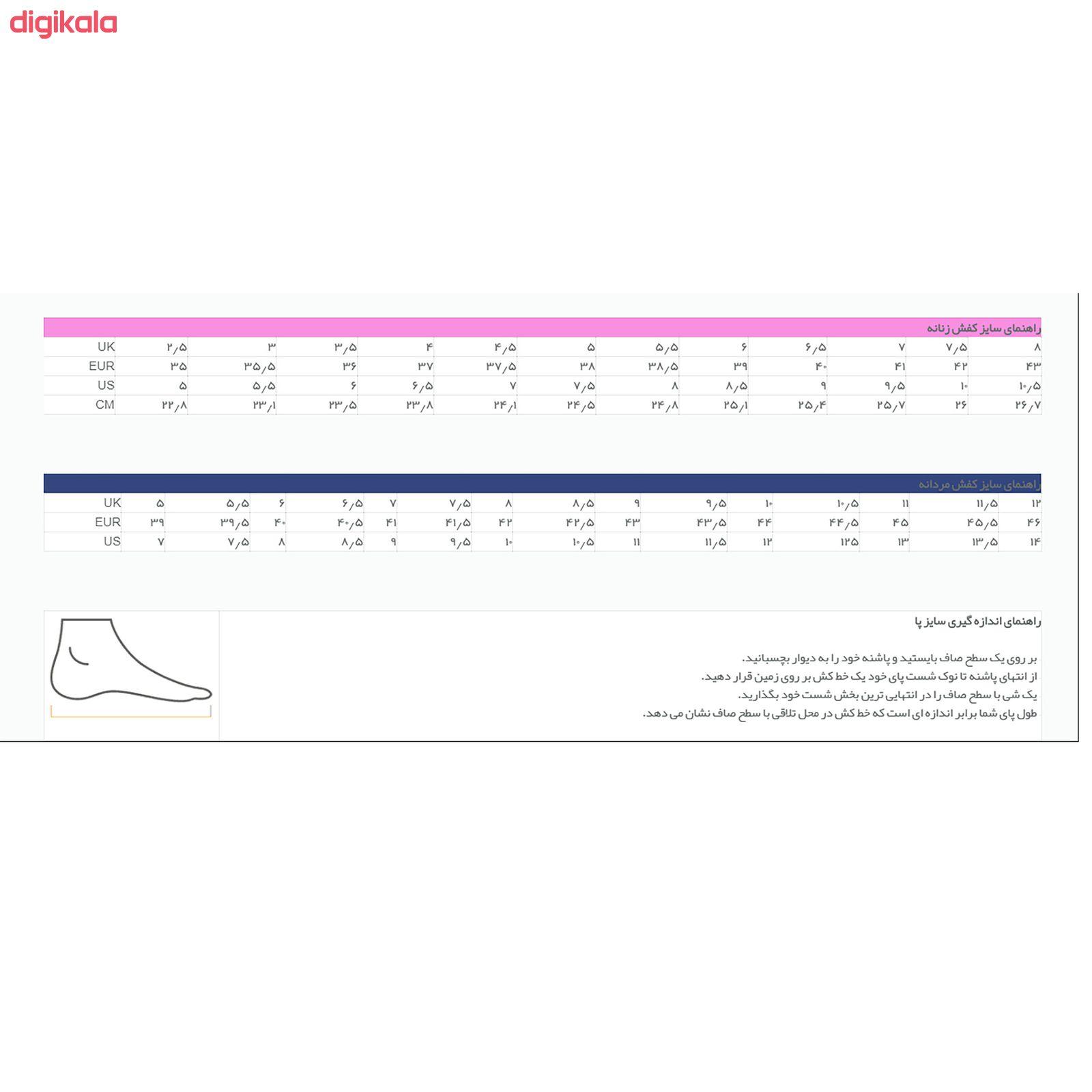 کفش مخصوص پیاده روی زنانه پرفکت استپس مدل پریمو کژوال رنگ سرمه ای main 1 8
