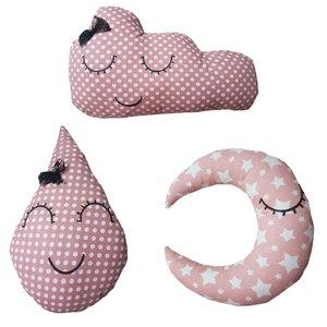 کوسن کودک مدل لبخند مجموعه 3 عددی