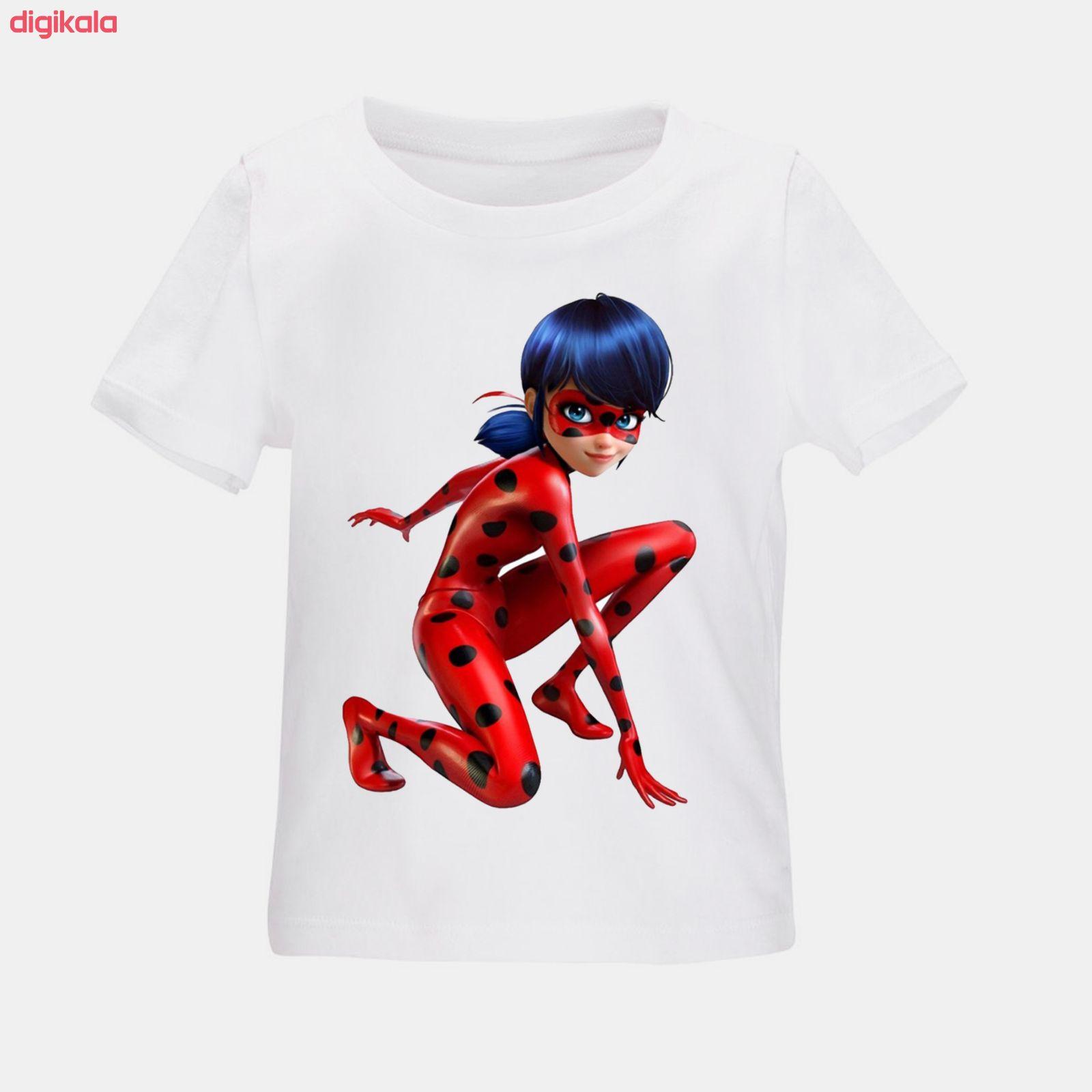 تی شرت بچگانه طرح دختر کفشدوزکی کد TSb27 main 1 1