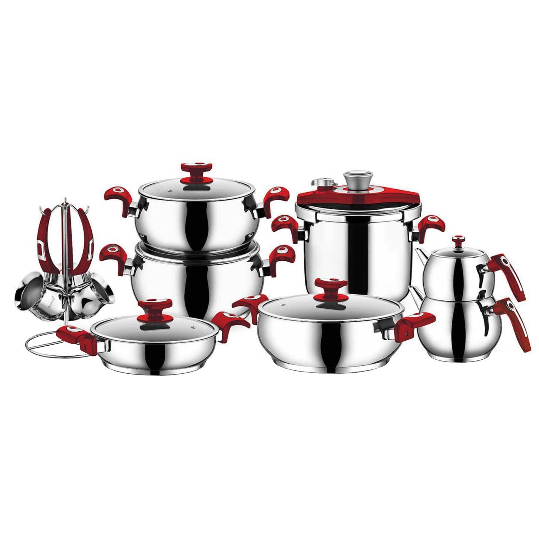 سرویس پخت و پز 18 پارچه شفر مدل Complett
