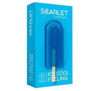 کاندوم اسکارلت مدل ICE COOL FEELING بسته ۱۲ عددی