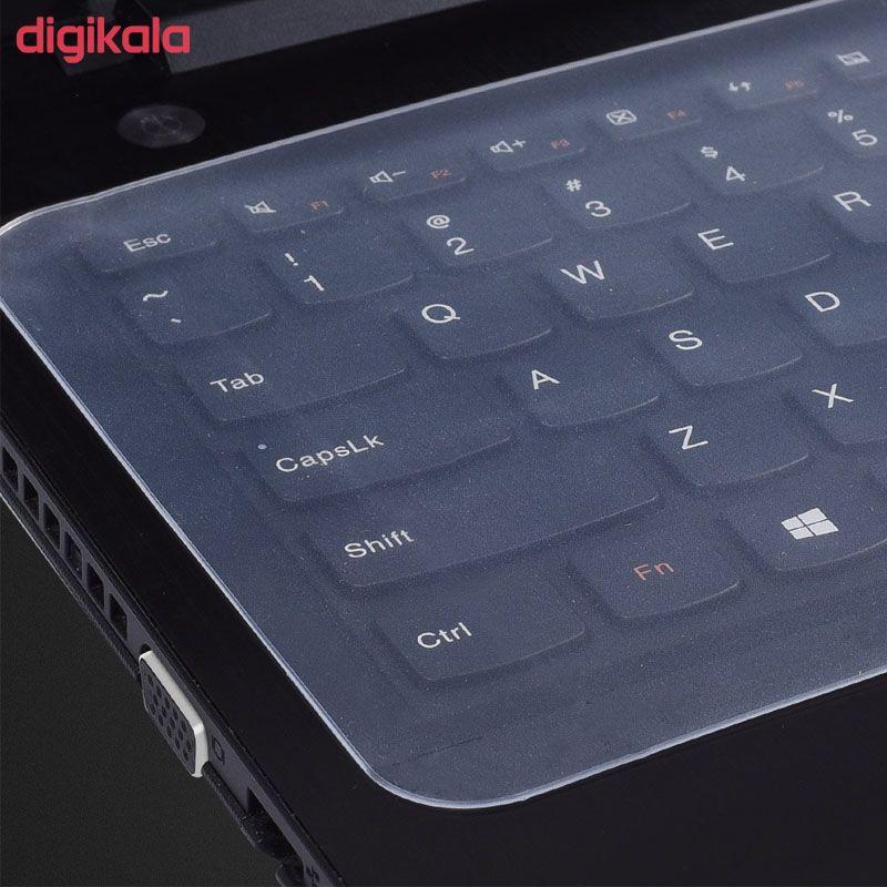 محافظ کیبورد مدل X2 مناسب برای لپ تاپ های 15.6 اینچ  main 1 3
