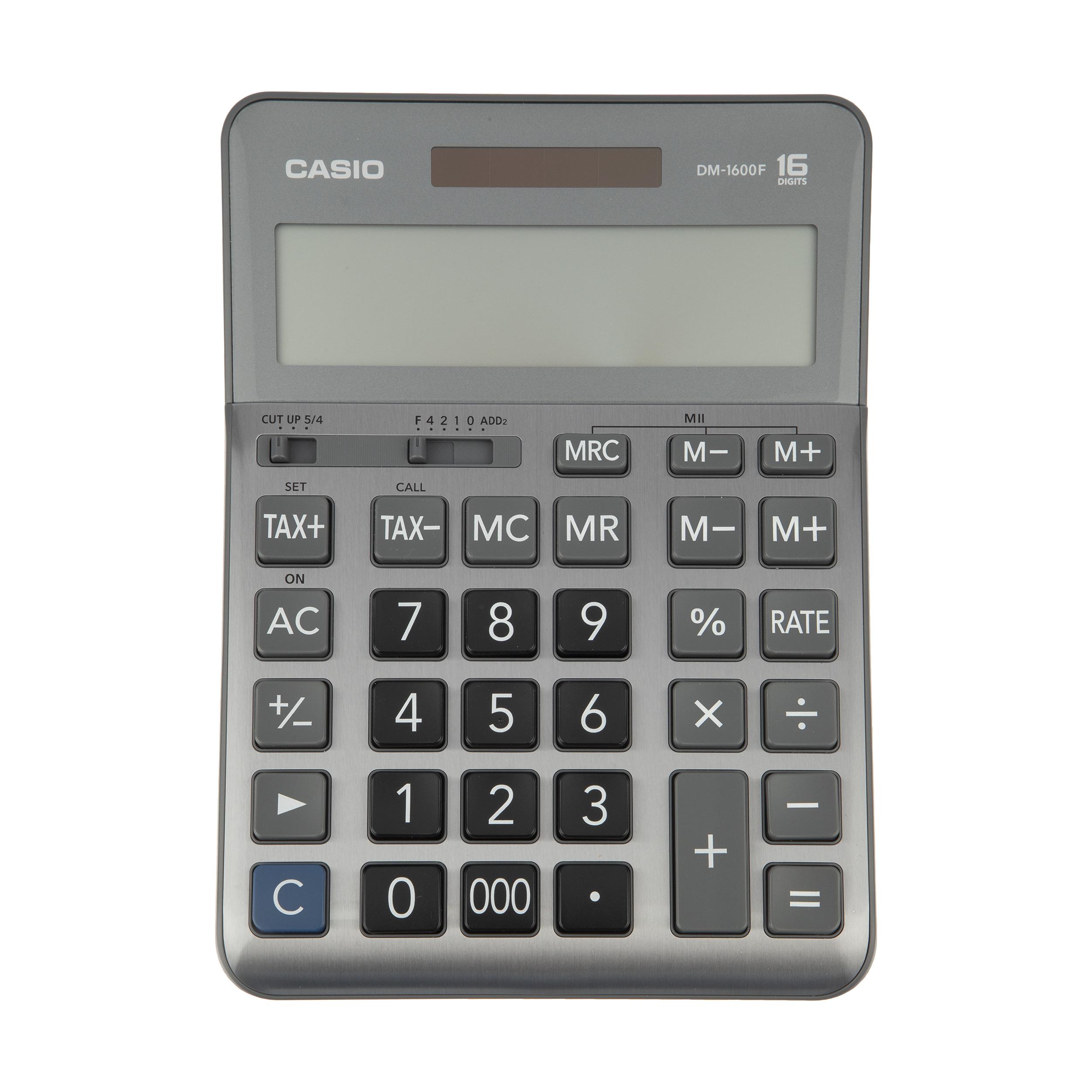 ماشین حساب کاسیو مدل DM-1600F