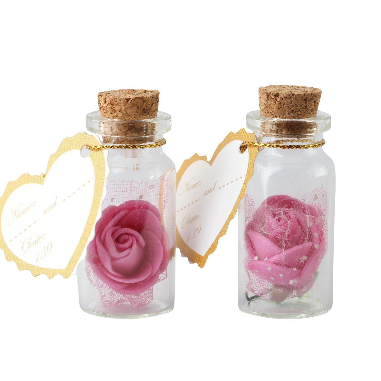 گیفت عروسی طرح گل بسته 2 عددی