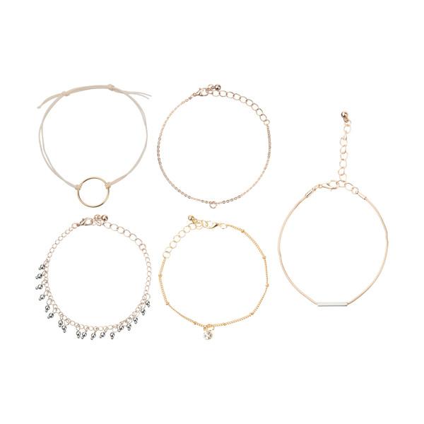 دستبند زنانه پیله کد 4 مجموعه 5 عددی