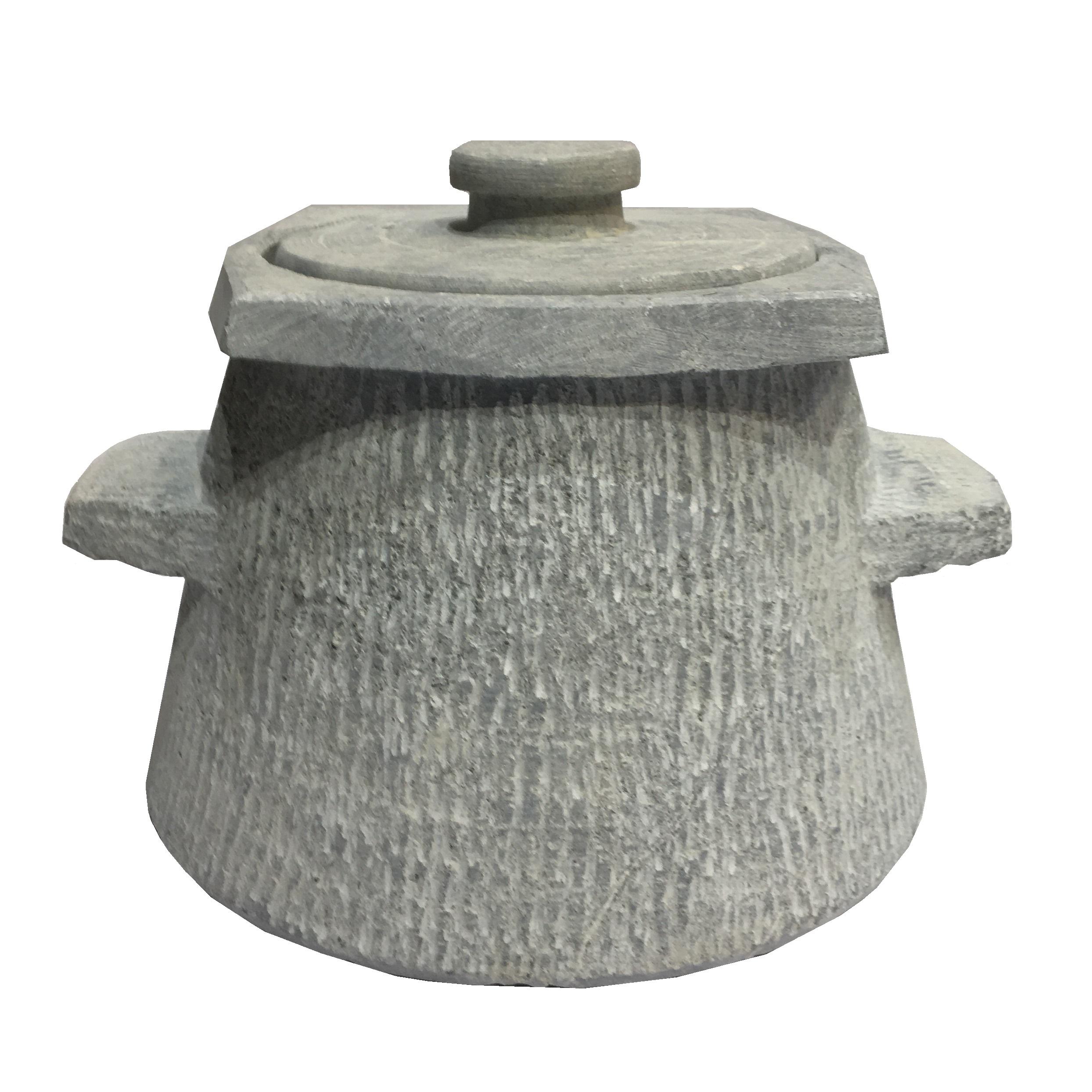 ظرف دیزی سنگی مدل تیشه ای کد DZT 0404