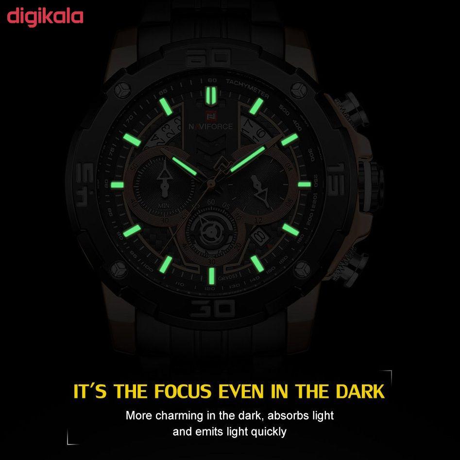 ساعت مچی عقربه ای مردانه نیوی فورس مدل NF9175-RGB