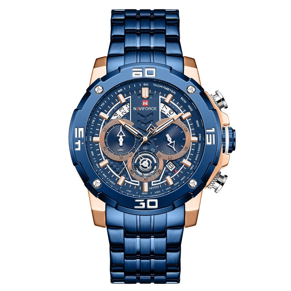 قیمت و خرید                      ساعت مچی عقربه ای مردانه نیوی فورس مدل NF9175-RGBE