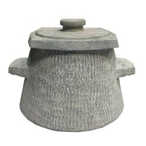 ظرف دیزی سنگی مدل تیشه ای کد DZT 1414