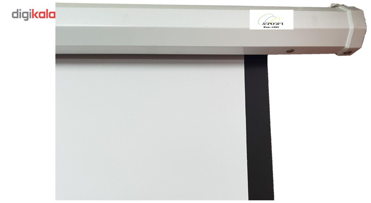 پرده نمایش دستی پروژکتور اسکوپ پارچه عالی سایز 200x200