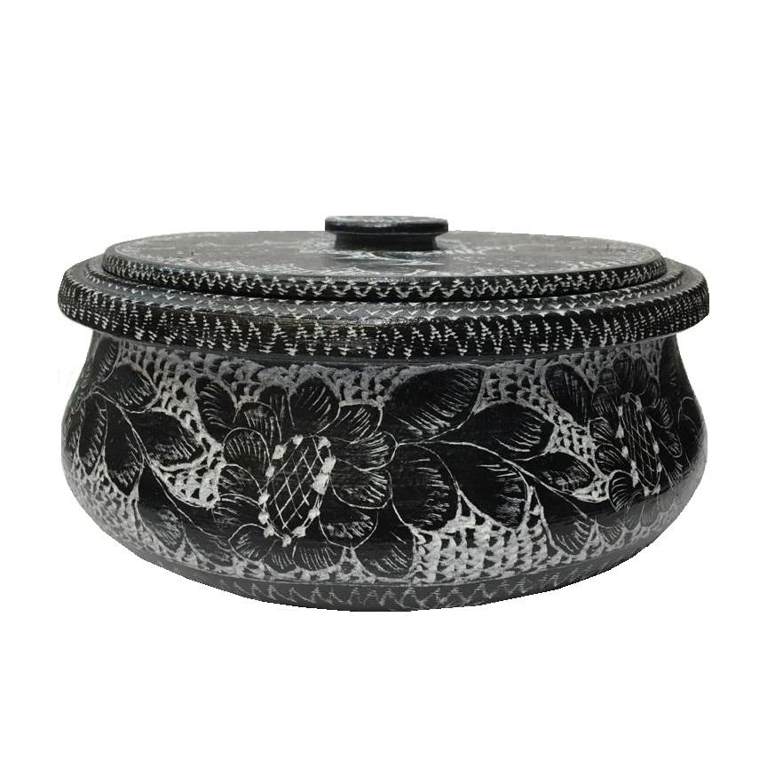 خرید                      ظرف دیزی سنگی طرح تابه ای کد DZTA 1010