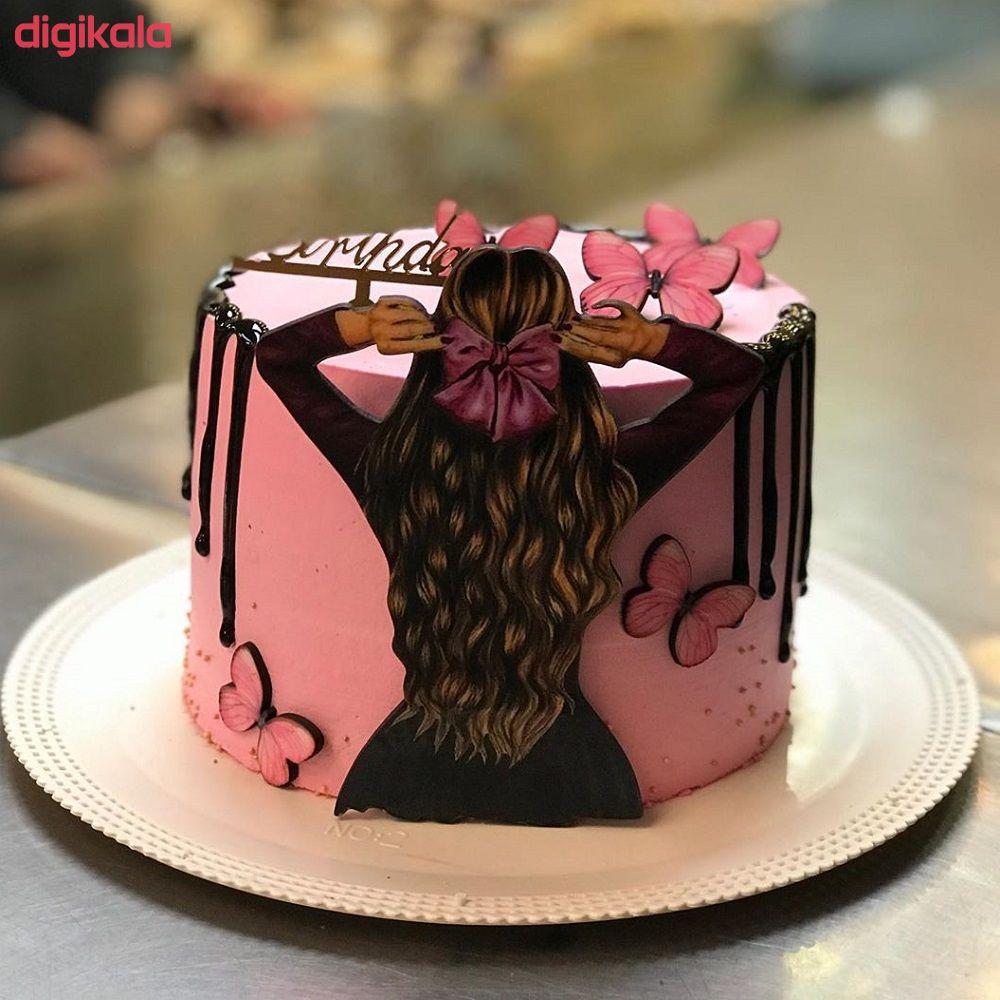 تاپر تزیین کیک بهگز مدل دختر پاپیونی مجموعه 6 عددی main 1 1