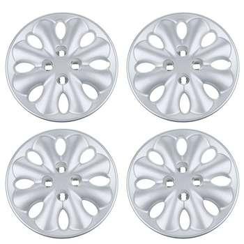 قالپاق چرخ صنایع خودرو حامد مدل Dan16  سایز 15 اینچ مناسب برای زانتیا بسته 4 عددی