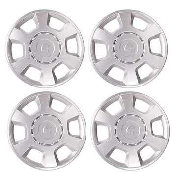 قالپاق چرخ صنایع خودرو حامد مدل Dan04 سایز 14 اینچ مناسب برای رانا بسته 4 عددی