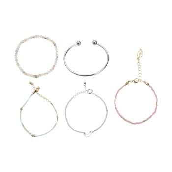 دستبند زنانه پیله کد 2 مجموعه 5 عددی