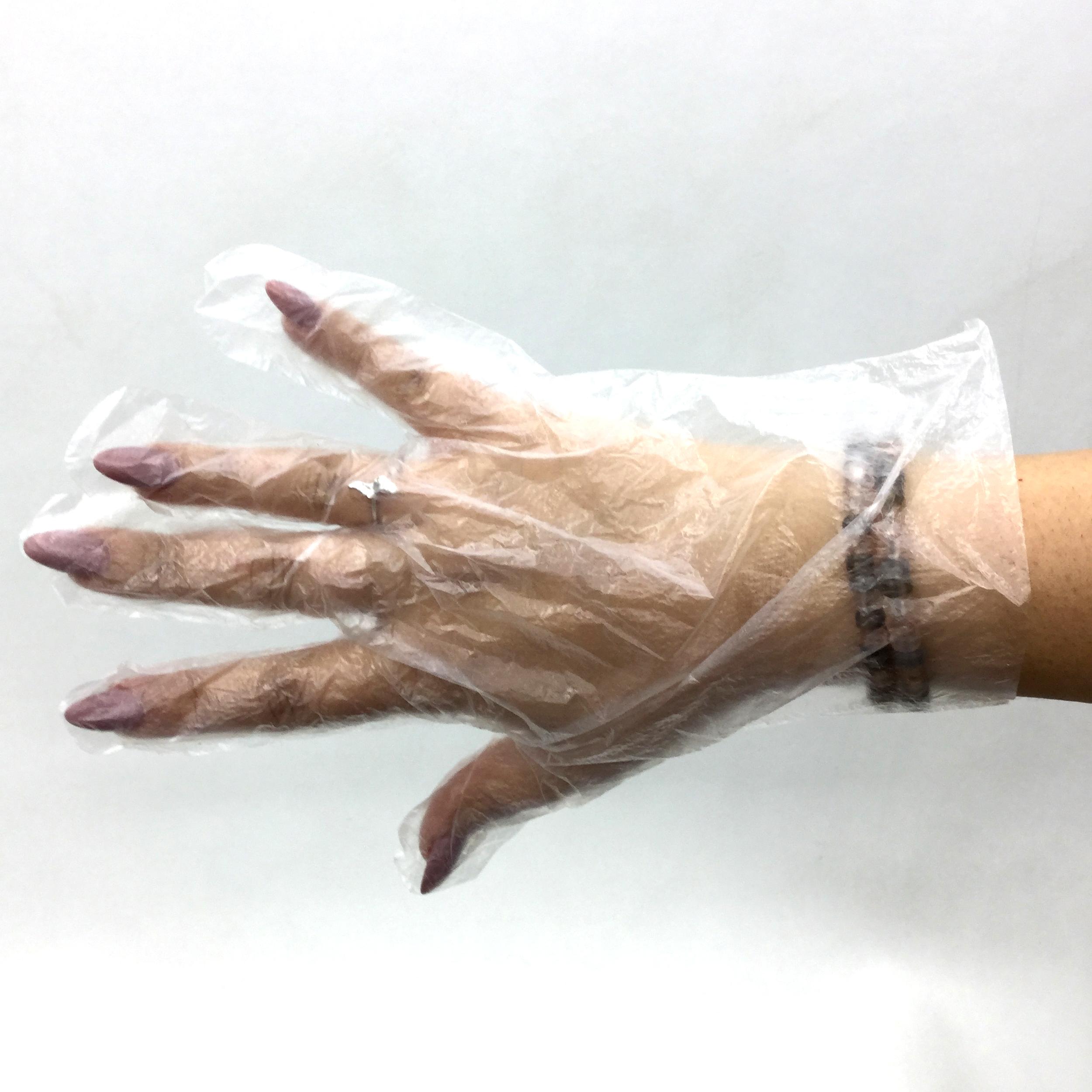 دستکش یکبار مصرف تیک مدل H5 بسته 2 عددی