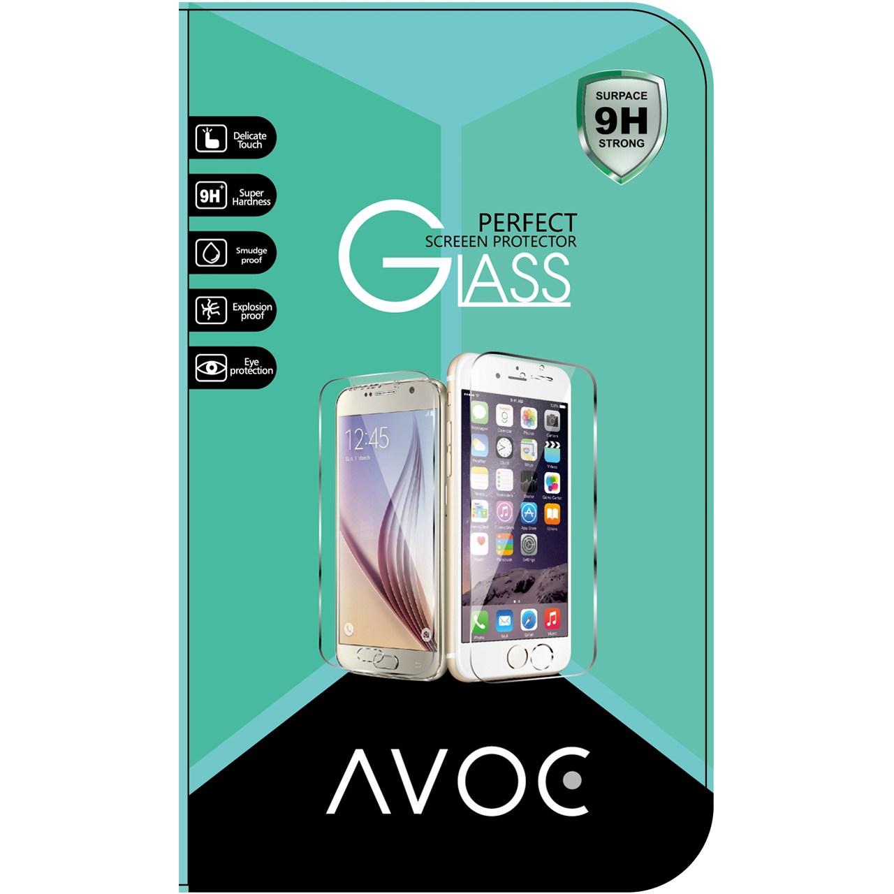 محافظ صفحه نمایش شیشه ای اوک مناسب برای گوشی موبایل اچ تی سی M8