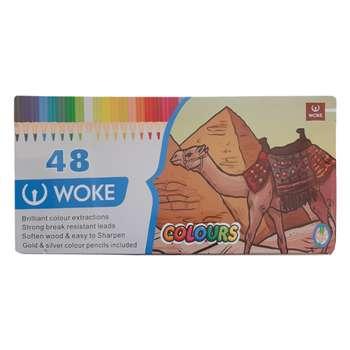 مداد رنگی 48 رنگ ووک طرح شتر