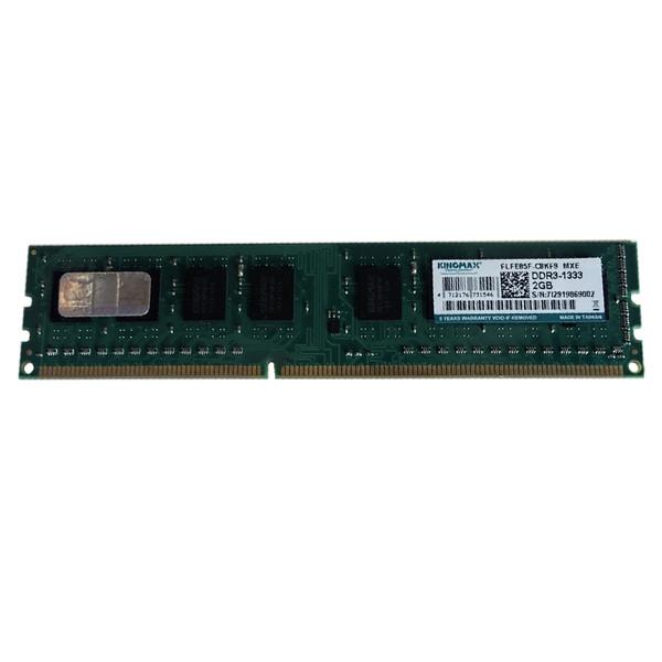 رم دسکتاپ DDR3 تک کاناله 1333 مگاهرتز CL9 کینگ مکس مدل C8KF9 ظرفیت 2 گیگابایت