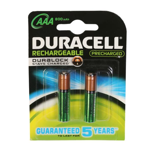 باتری نیم قلمی قابل شارژ دوراسل مدل Duralock HR03 بسته 4 عددی